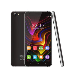 16GB Dual Sim Oukitel Quad Core 5-Inch 1280*720 HD Screen Android 7.0