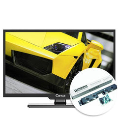 Canca 24-Inch Multimedia HD LED LCD Flat Panel TV Display Monitor