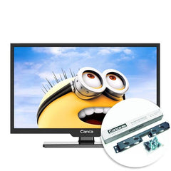 Canca 24-Inches TV Full HD HDMI/USB/AV/RF/VGA Multi-Interface Monitor