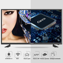 Canca Android TV Quad-Core Smart TV WIFI Full HD Media Player USB HDMI Monitor