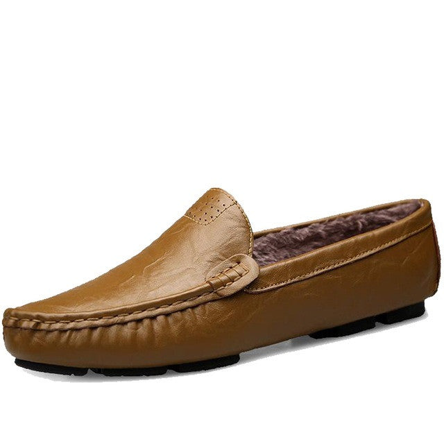 A7 Design Genuine Leather Men Loafer Shoe - BigrockShoes.com