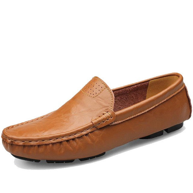 A9 Design Genuine Leather Men Loafer Shoe - BigrockShoes.com