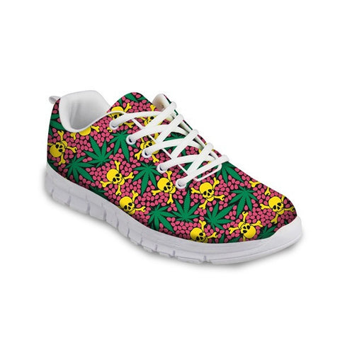 Air Mesh Eva Insole Cotton Lining Mixed Colors Casual Shoe For Women  - A15