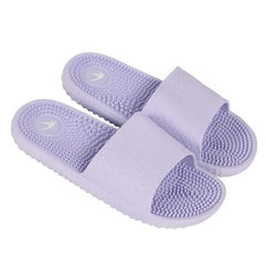 Light Purple Solid Pattern Eva Insole & Outsole Slippers Flip-Flop For Women