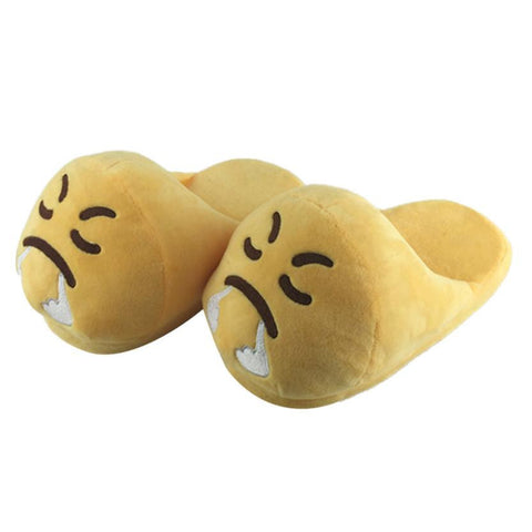 Plain Decoration Plush Lining Latex Insole Slippers Flip-Flop For Women