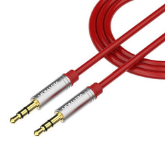 1.5m Gold-Plated Stereo Auxiliary Cable For Phone Car Speaker Aux Mp3 Player