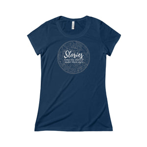"""Stories Tame the Stars"" Women's Triblend Tee"