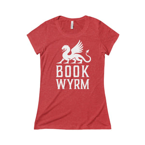 """Bookwrym"" Women's Triblend Tee"