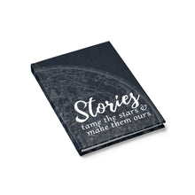 """Stories Tame the Stars"" Ruled-line Journal"