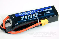 Admiral 1100mAh 6S 22.2V 30C LiPo Battery with XT60 Connector EPR11006X6