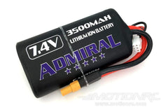 Admiral 2 Cell 7.4V Li-Ion NCR 18650 3500mAh Battery w/XT30 Connector ADM6024-011