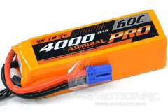 Admiral Pro 4000mAh 5S 18.5V 60C LiPo Battery with EC5 Connector EPR40005PRO