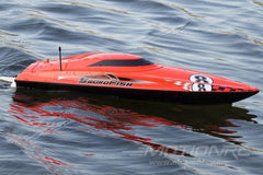 "Bancroft Swordfish Deep V Red 24"" Racing Boat - RTR BNC1011-001"