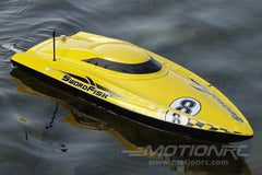 "Bancroft Swordfish Deep V Yellow 24"" Racing Boat - RTR BNC1011-002"