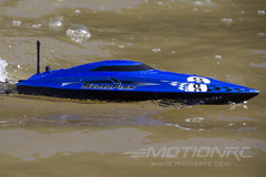 "Bancroft Swordfish Mini Blue 430mm (17"") Racing Boat - RTR BNC1012-002"