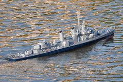Bancroft USS Fletcher 1/72 Scale USA Destroyer - RTR BNC1003-003