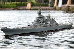 "Bancroft USS Missouri 1/150 Scale 1800mm (70.8"") USA Battleship - RTR BNC1016-001"