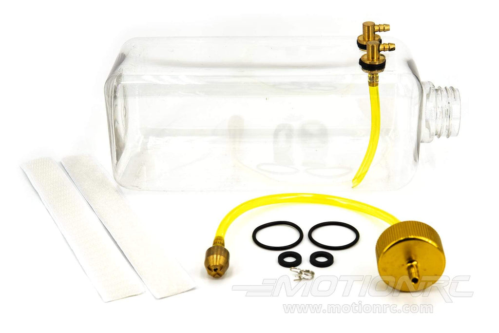 BenchCraft 1000mL (34oz) Transparent Fuel Tank and Aluminum Fitting Set BCT5031-040