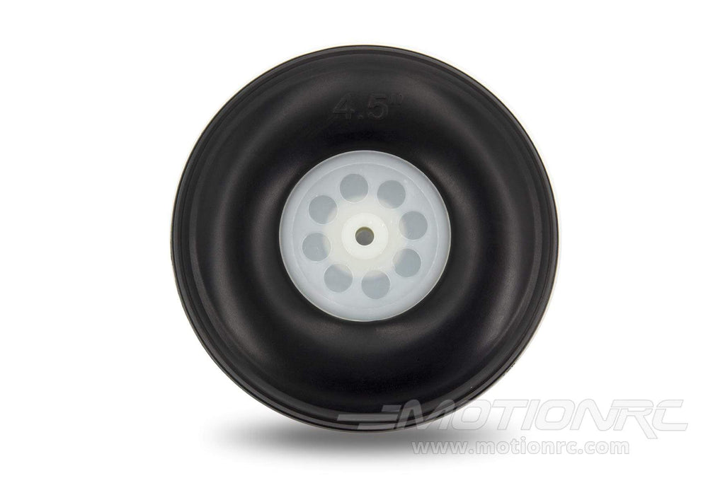 "BenchCraft 114mm (4.5"") x 41mm Treaded Foam PU Wheel for 5mm Axle BCT5016-067"