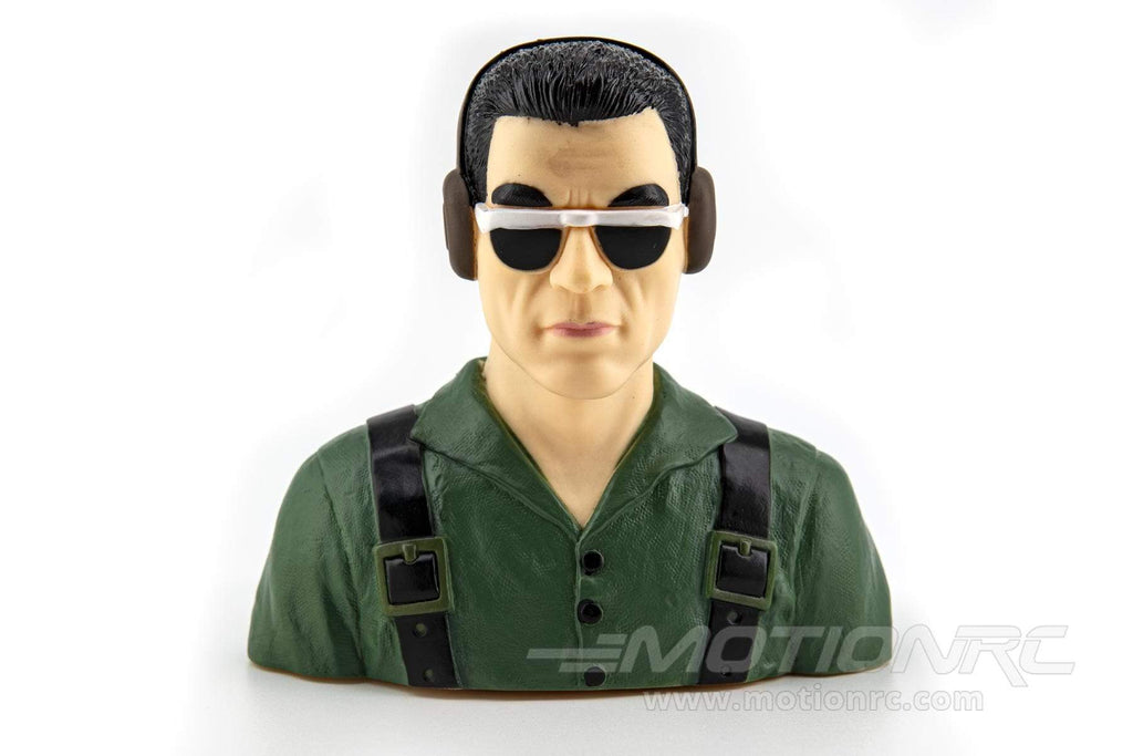"BenchCraft 115mm (4.5"") Civil Pilot Figure - Green BCT5032-002"