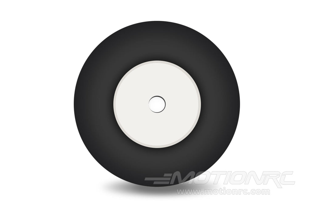 "BenchCraft 25mm (1"") x 13mm Solid Rubber Wheel for 2.3mm Axle BCT5016-045"