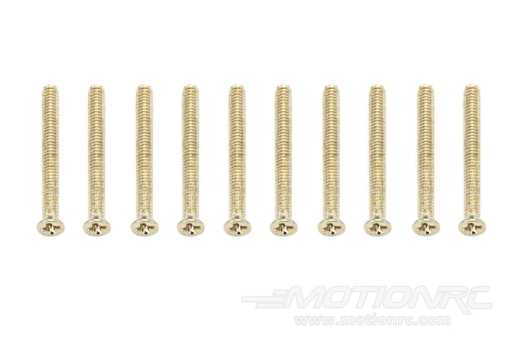 BenchCraft 2mm x 20mm Countersunk Machine Screws (10 Pack) BCT5040-043