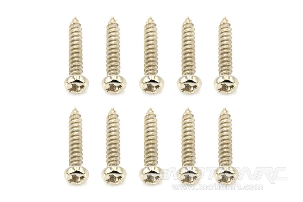 BenchCraft 3mm x 16mm Self-Tapping Screws (10 Pack) BCT5040-028