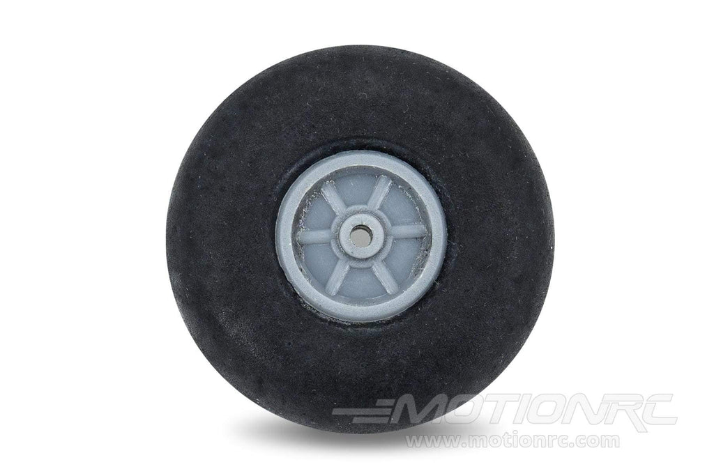 "BenchCraft 40mm (1.6"") x 15mm Solid Rubber Wheel for 2.3mm Axle BCT5016-047"