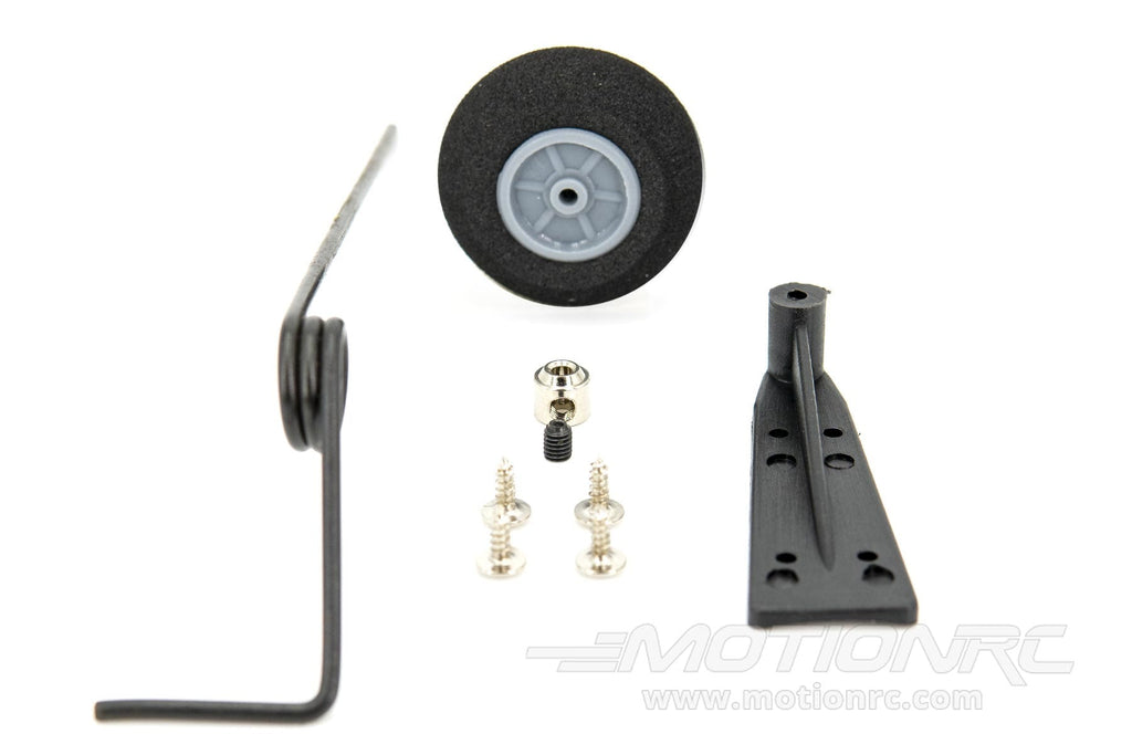 BenchCraft Tail Landing Gear Assembly w/ 28mm Wheel BCT5047-002