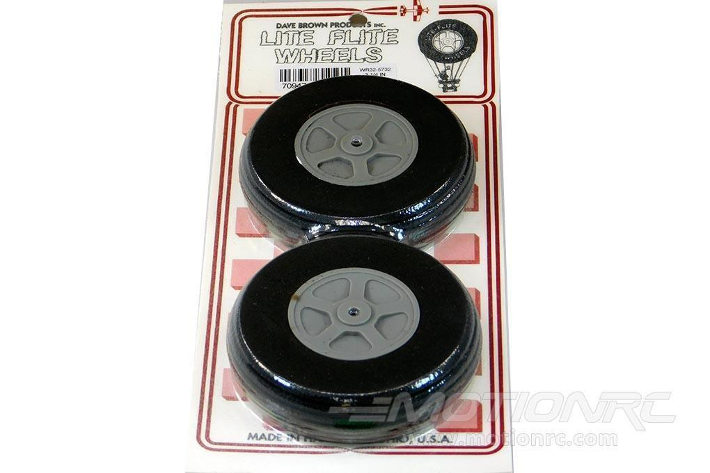 "Dave Brown Treaded Lite Flite 3.25"" Wheel Set WR32-5732"