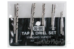 Dubro 10 Piece Standard Tap and Drill Set DUB509