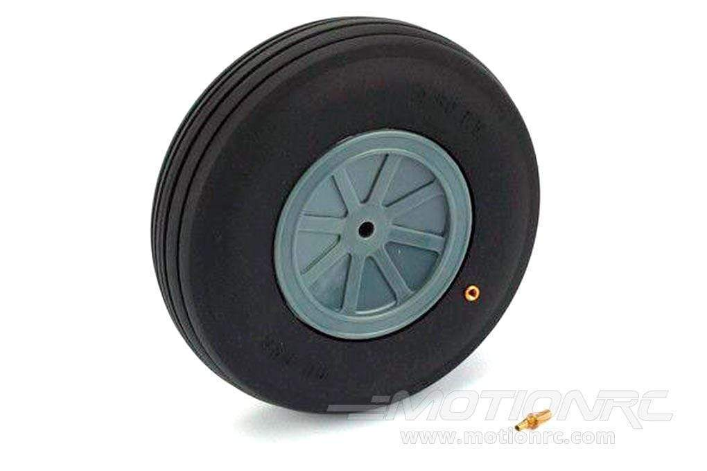 "Dubro 139.7mm / 5.5"" Large Scale Treaded Wheel DUB550TV"