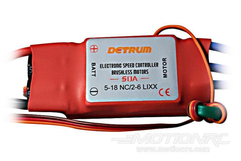 Dynam 50A Brushless ESC with 3A BEC DYE-1017