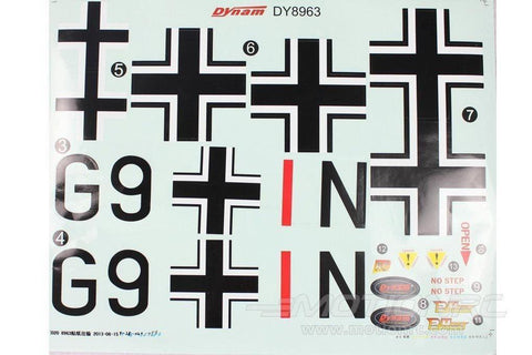 Dynam BF-110 Decal Sheet DY-BF110-13