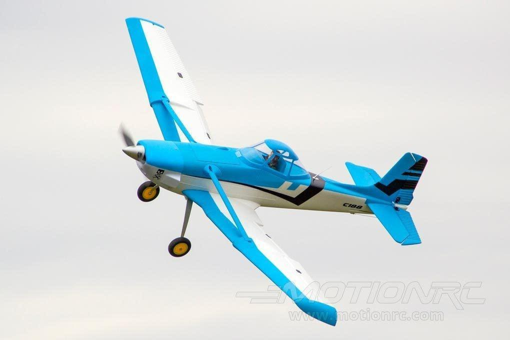 "Dynam C-188 Crop Duster Blue 1500mm (59"") Wingspan - PNP DY8967PNP-BLUE"