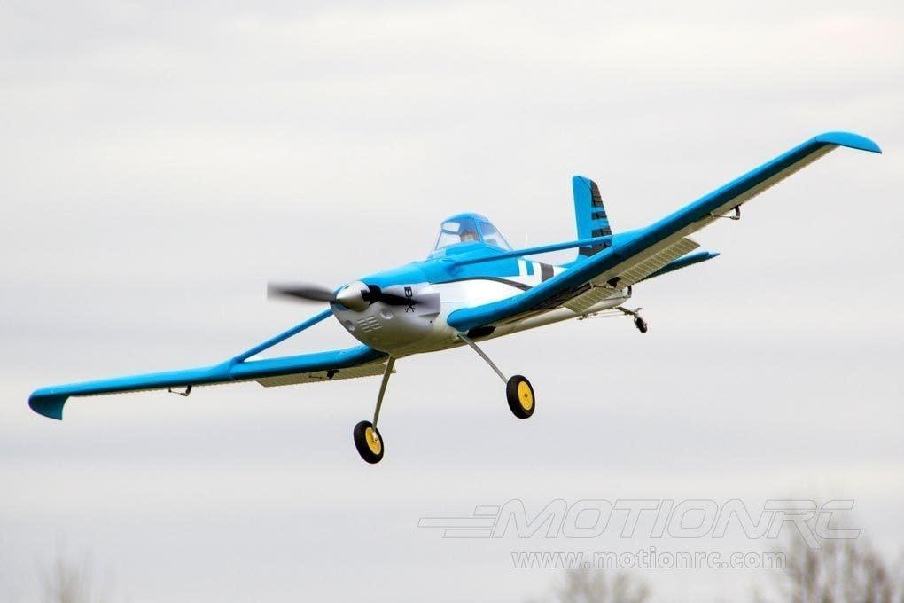 "Dynam C-188 Crop Duster Blue 1500mm (59"") Wingspan - PNP (SD) DY8967-BLUE(SD)"