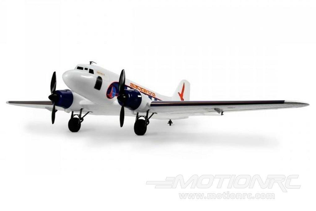 "Dynam DC-3 Skybus White 1470mm (58"") Wingspan - PNP - SCRATCH AND DENT DY8931PNP-WHITE(SD)"