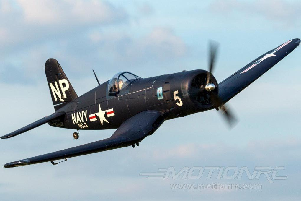 "Dynam F4U Corsair 1270mm (50"") Wingspan - PNP - SCRATCH AND DENT DY8953PNP(SD)"