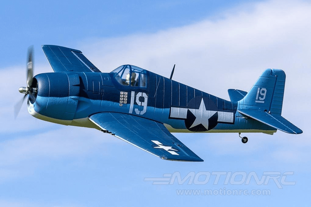 "Dynam F6F Hellcat 1270mm (50"") Wingspan - RTF - SCRATCH AND DENT DY8958RTF(SD)"