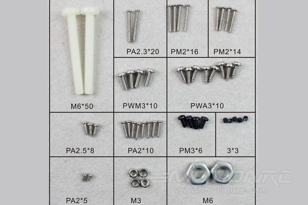 Dynam Hawker Tempest Screw Set DY-HKTP-16