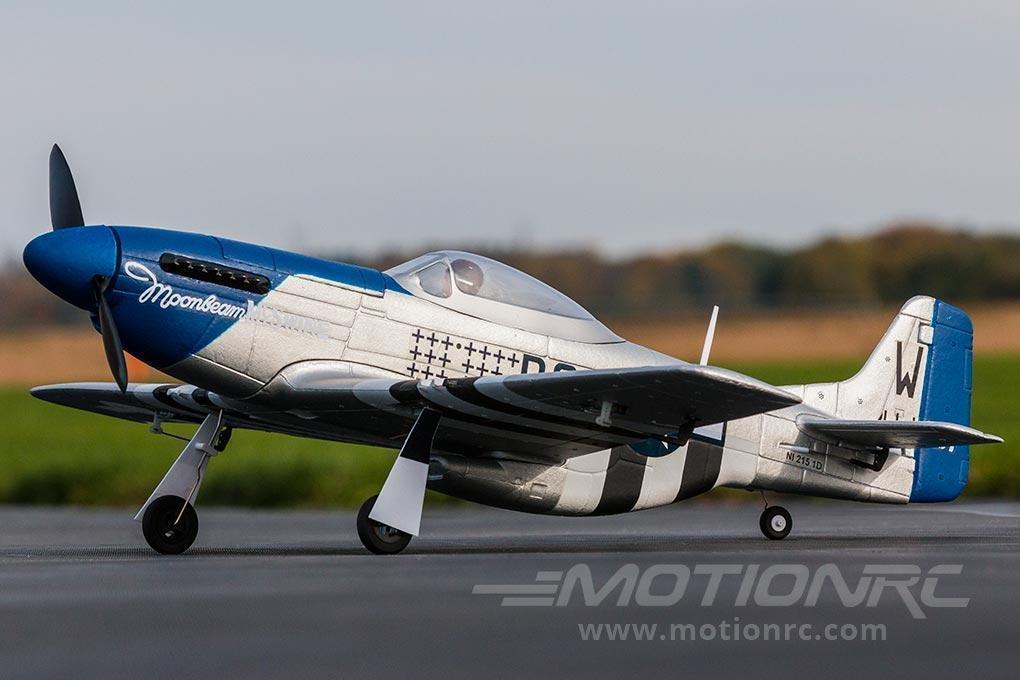 "Dynam Mini P-51 V2 762mm (30"") Wingspan - PNP - SCRATCH AND DENT DY8964PNP(SD)"