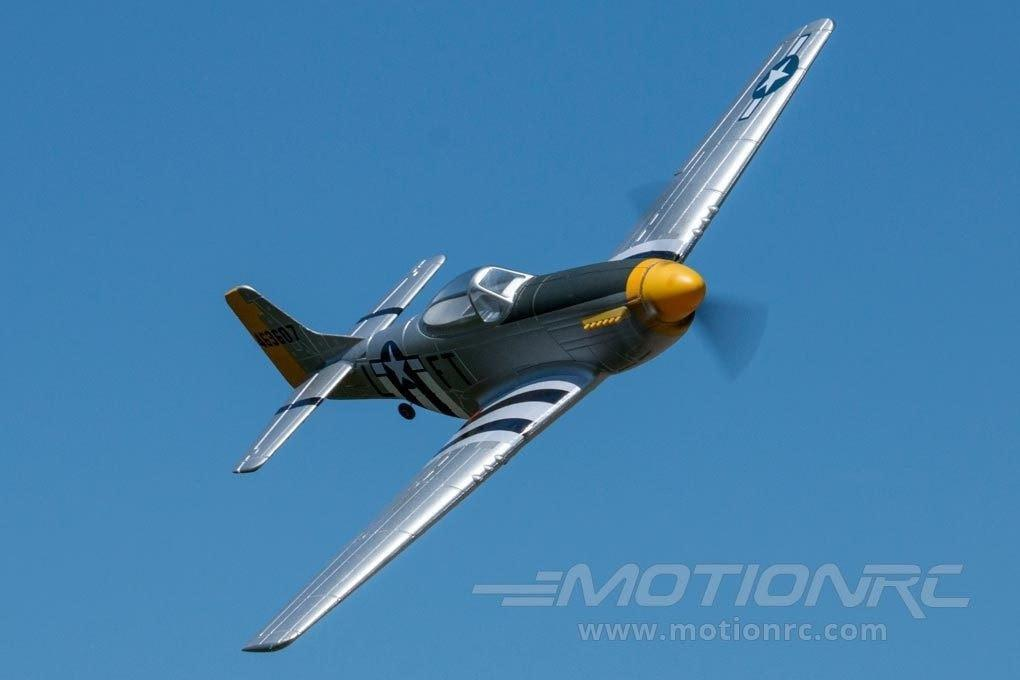 "Dynam P-51D Mustang 1200mm (47"") Wingspan - PNP - SCRATCH AND DENT DY8939PNP(SD)"