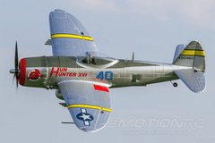 "Dynam P47-D Thunderbolt with Gyro 1220mm (48"") Wingspan - RTF DY8956SRTF"