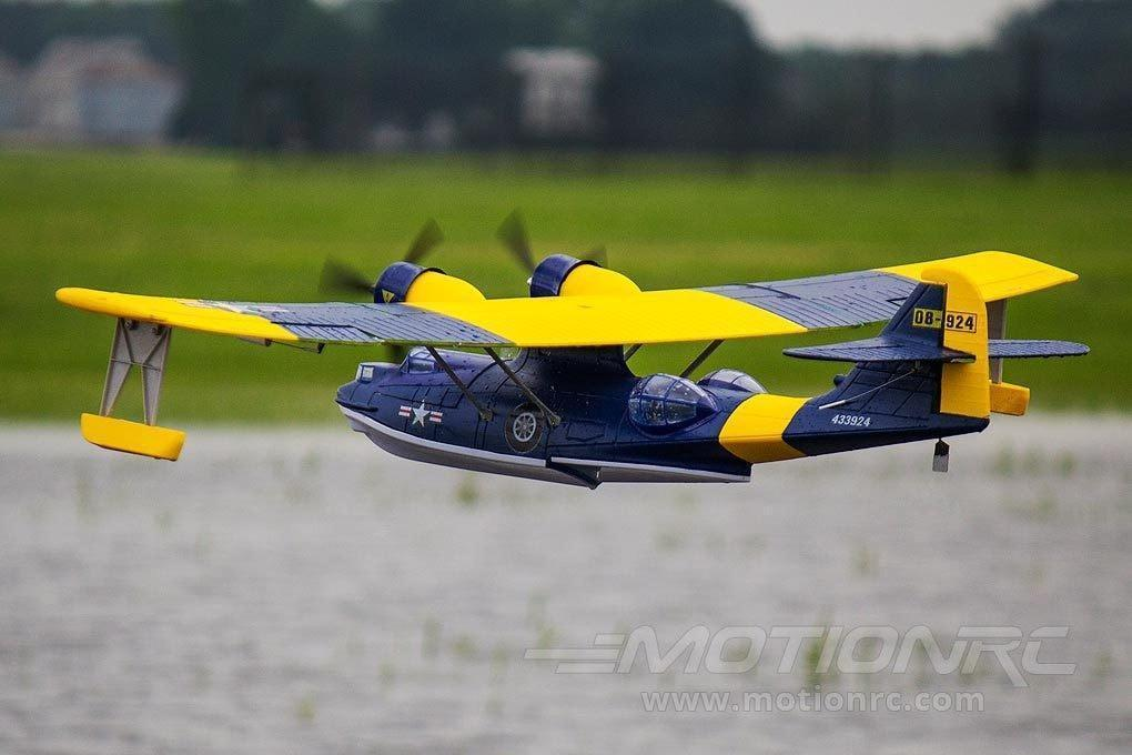 "Dynam PBY Catalina Blue 1470mm (57"") Wingspan - PNP DY8943PNP-BLUE"
