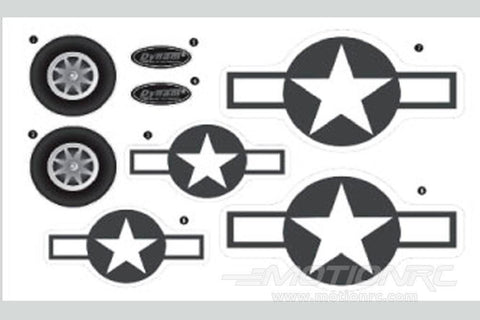 Dynam PBY Catalina Decal Sheet - Grey DY-CTL-11-GREY