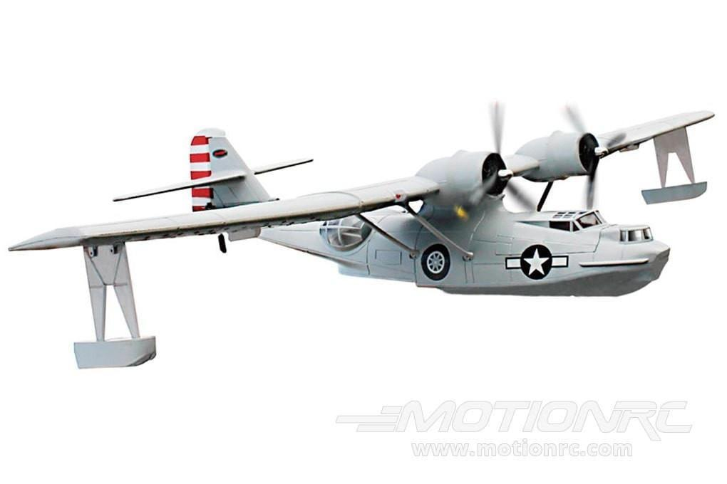 "Dynam PBY Catalina Grey 1470mm (57"") Wingspan - PNP - SCRATCH AND DENT DY8943PNP-GREY(SD)"