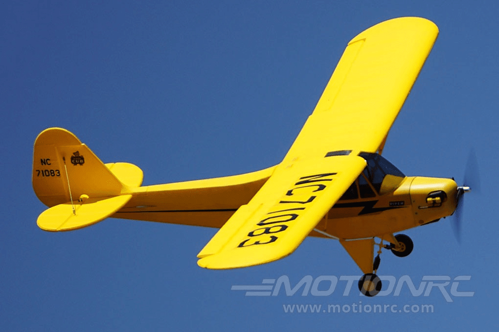 "Dynam Piper J3 Cub with Gyro 1200mm (47"") Wingspan - RTF DY8941SRTF"