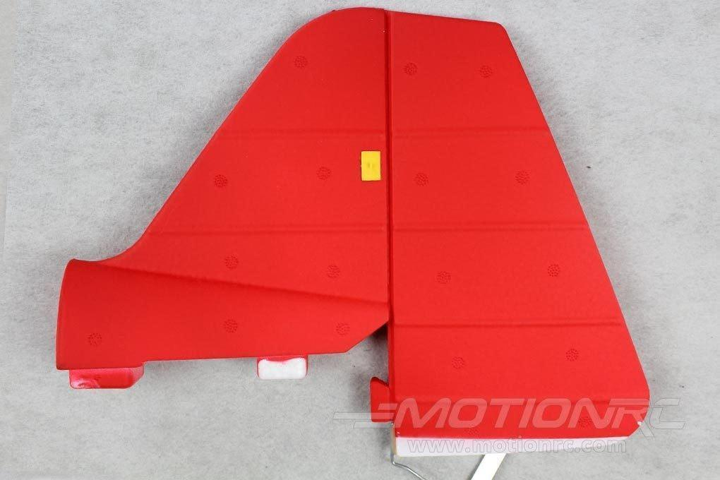 Dynam Pitts Model 12 Vertical Stabilizer - Red DY-PITTS-05-RED