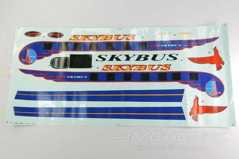 Dynam Skybus Decal Sheet - White DY-SKYB-009-WHITE