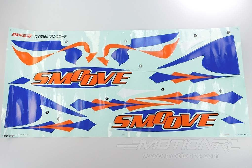 Dynam Smoove Decal Set